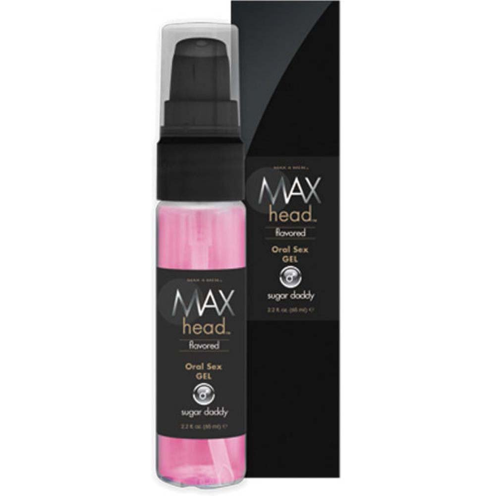 Max 4 Men Max Head Flavored Oral Sex Gel Sugar Daddy 2.2 Fl.Oz 65 mL Boxed - View #2
