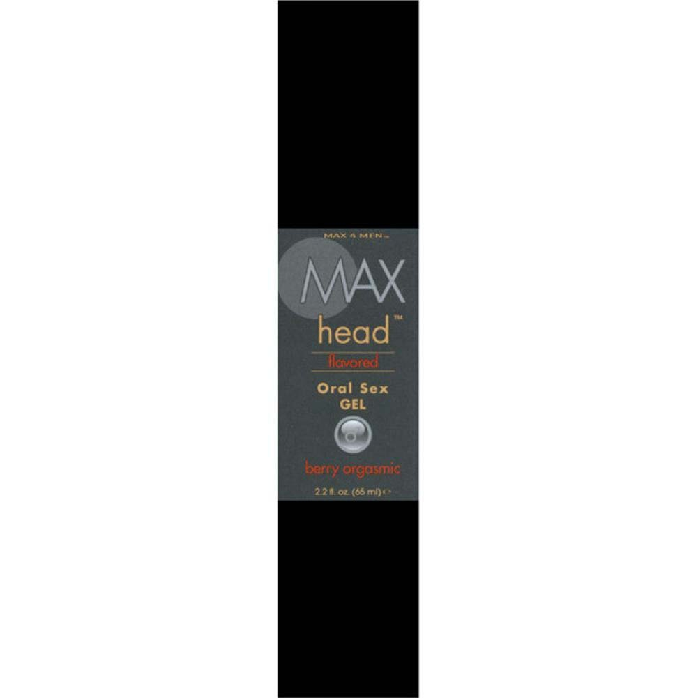 Max 4 Men Max Head Flavored Oral Sex - Berry Orgasmic - 2.2 Oz. Boxed - View #3