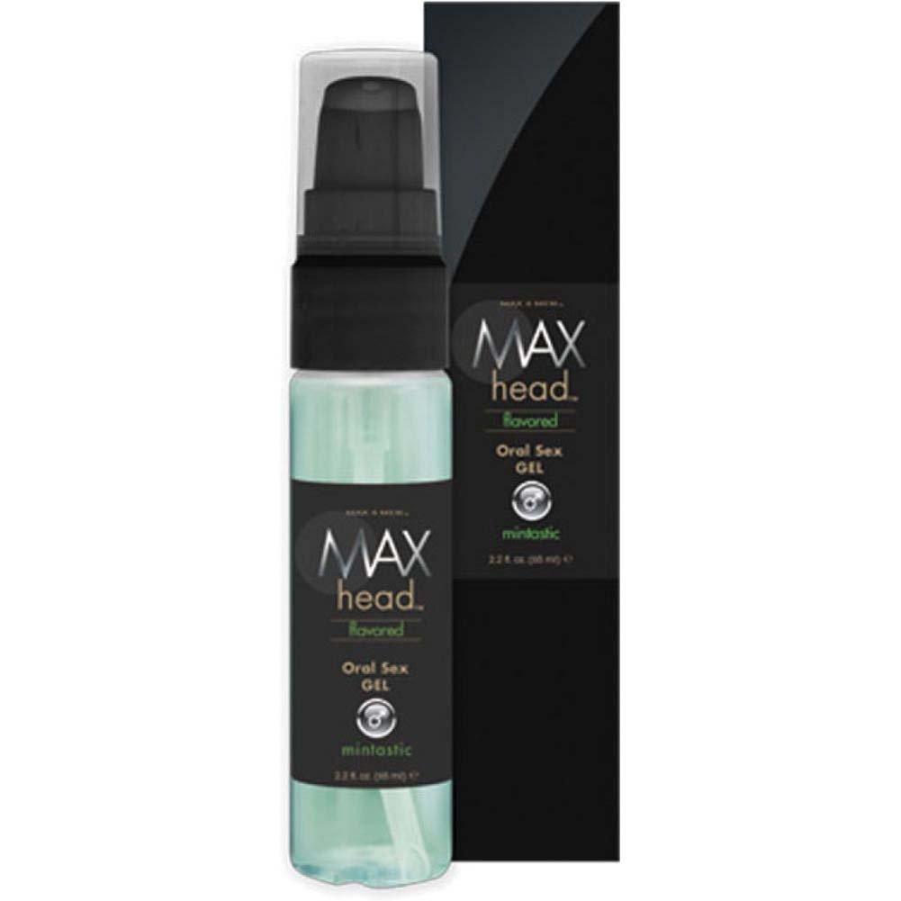 Max 4 Men Max Head Flavored Oral Sex Gel - Mintastic - 2.2 Oz. - View #2