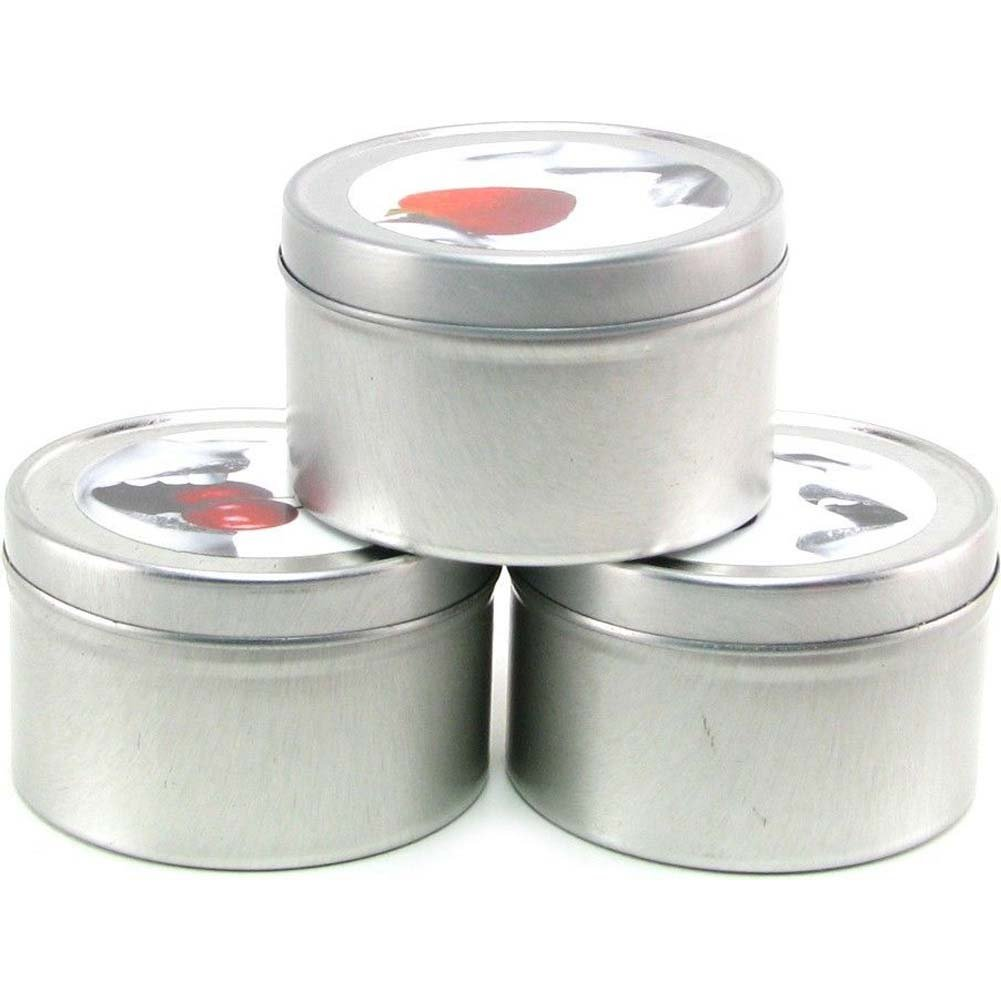Earthly Body Edible Candle Threesome Gift Set Assorted Flavors Bag of 3 Candles - View #3