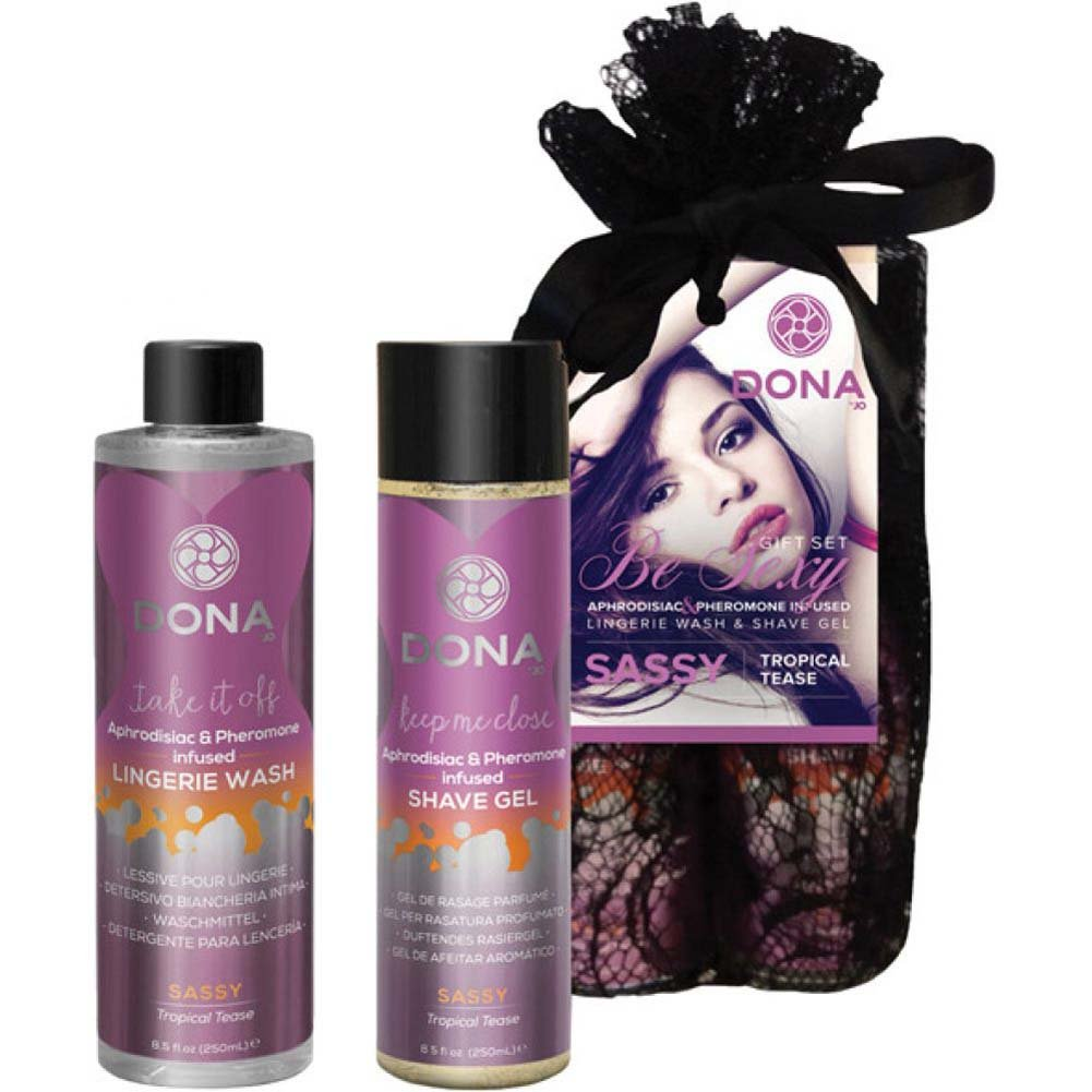 DONA Be Sexy Gift Set - Sassy Tropical Tease - View #1