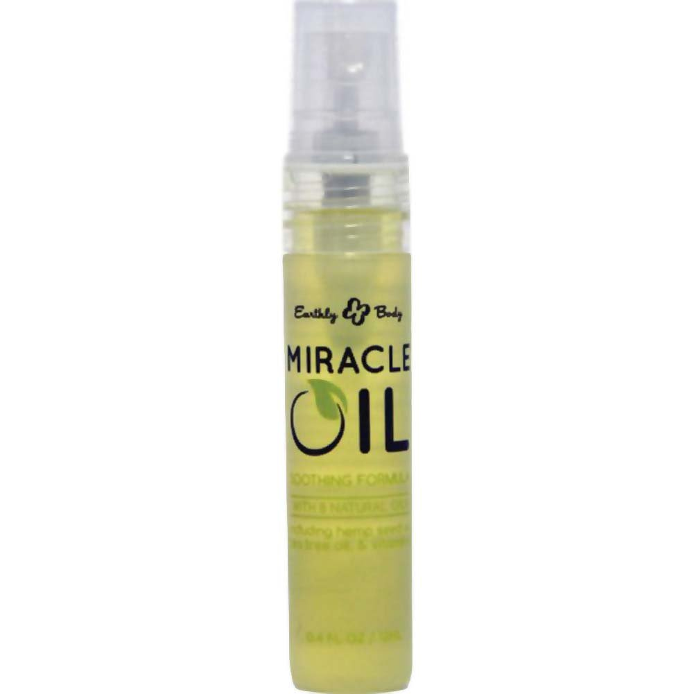 Earthly Body Miracle Oil Mini Spray 0.4 Fl.Oz 12mL - View #1