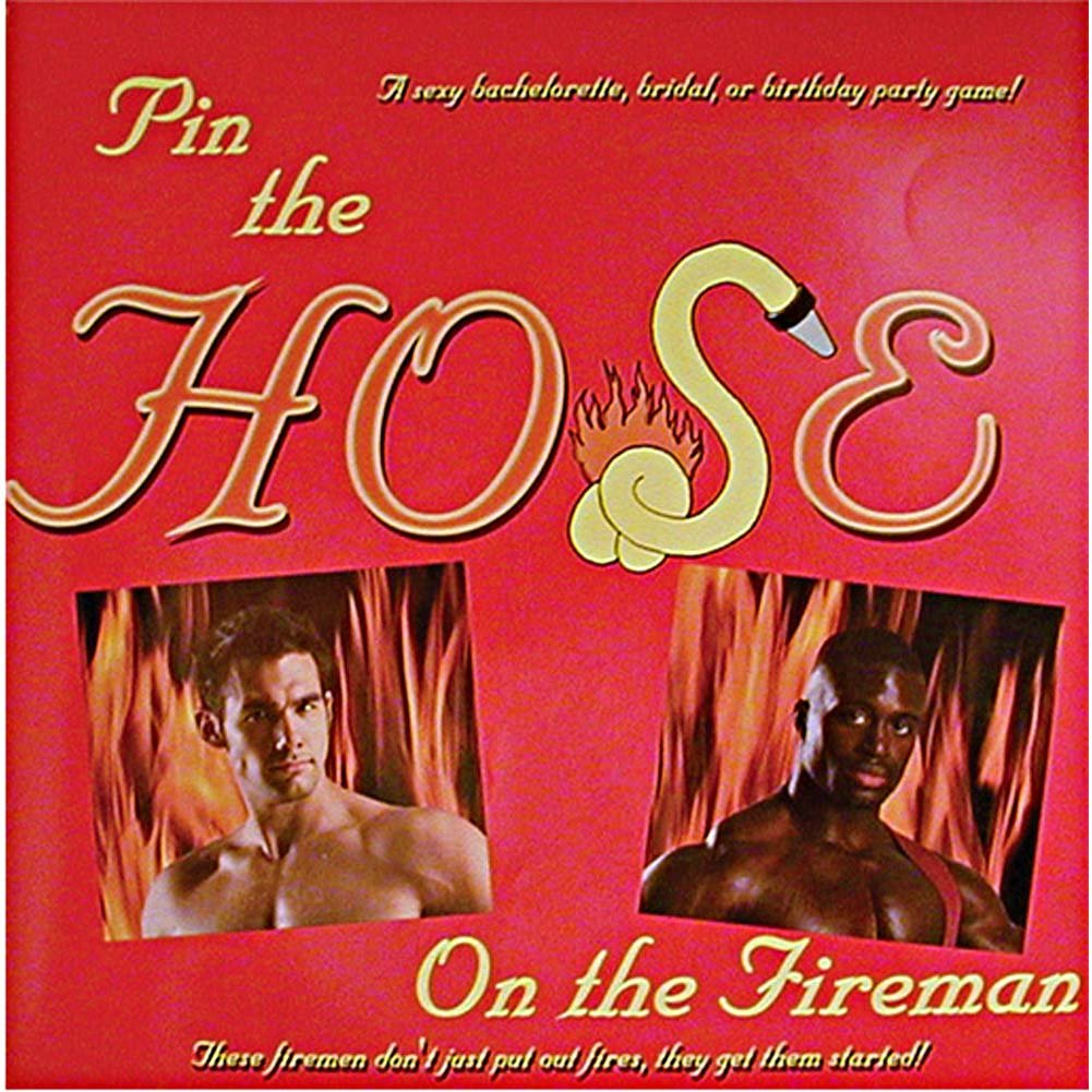 Pin the Hose On the Fireman Game - View #3