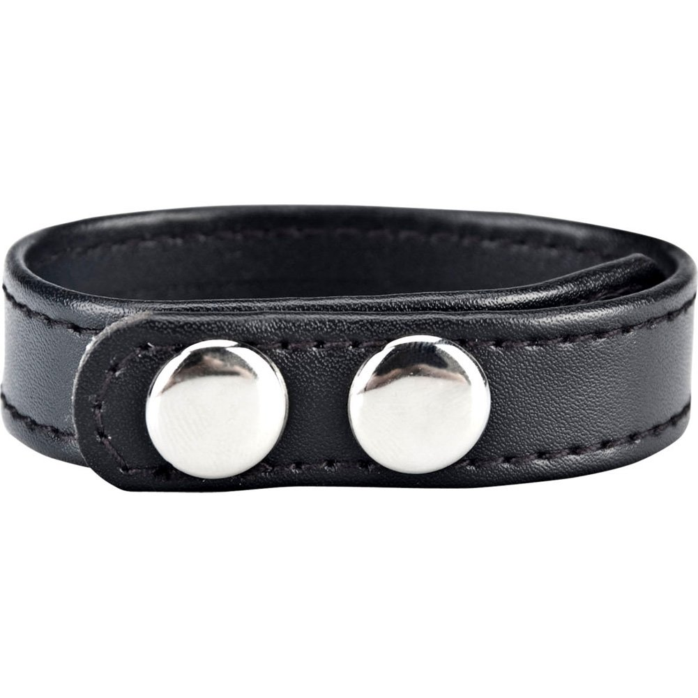 "Blue Line C and B Snap Cock Ring 7.75"" Black - View #1"