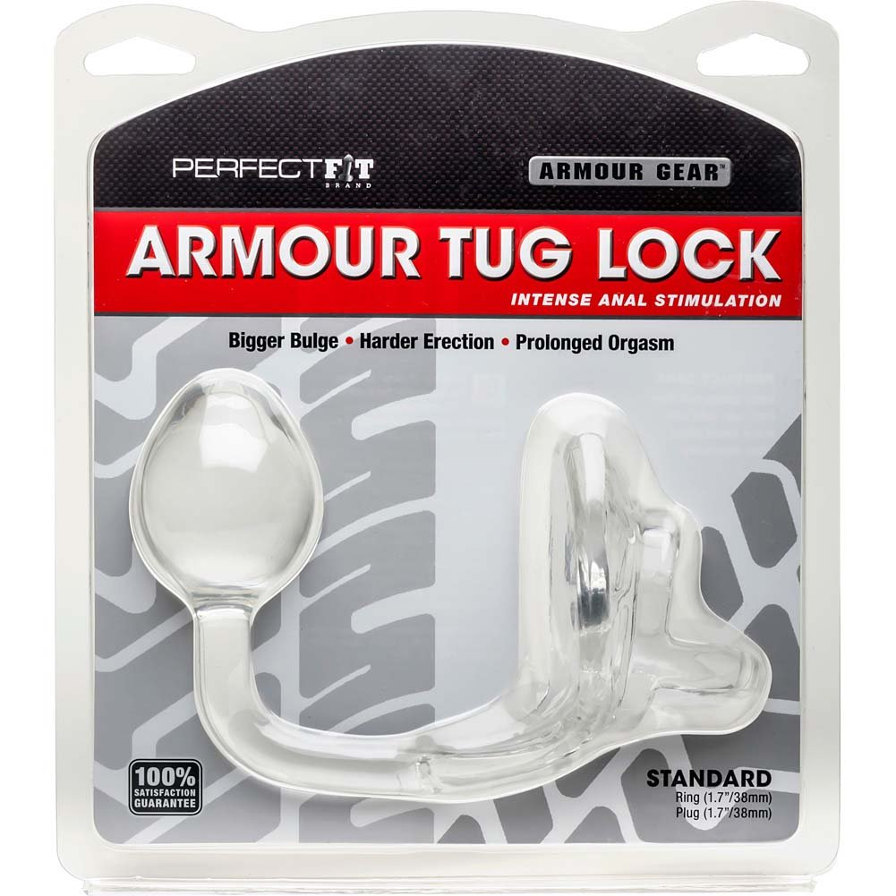 Perfect Fit Armour Tug Lock for Men Clear - View #1