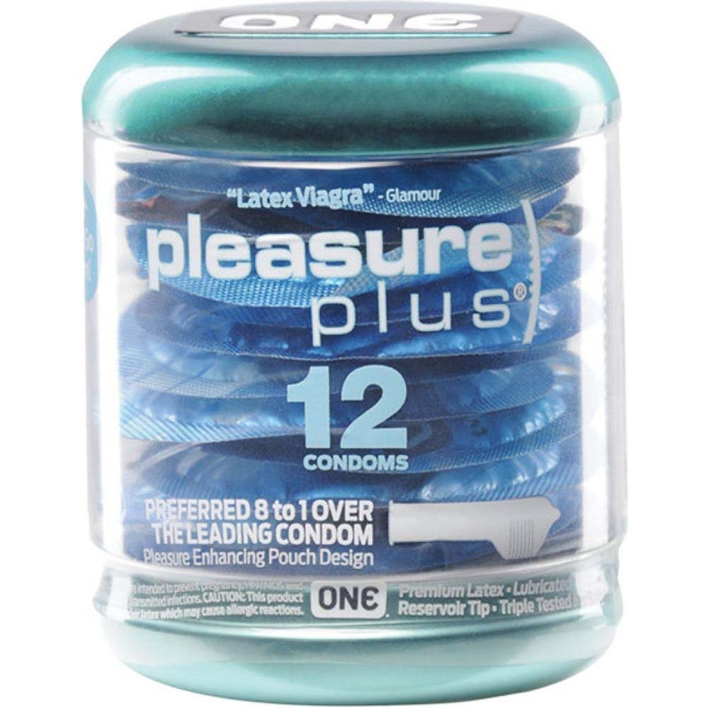 ONE Pleasure Plus Condoms 12 Pack - View #2