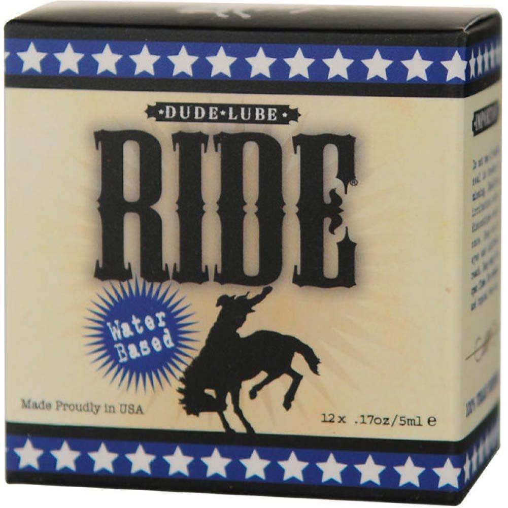 Sliquid Ride Dude Water Based Lube Cube 12 Pack - View #1