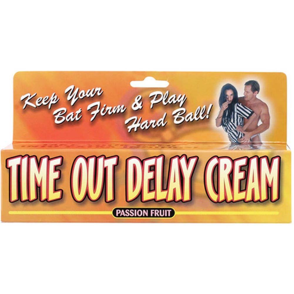 Time Out Delay Cream Passion Fruit 1.5 Oz - View #1