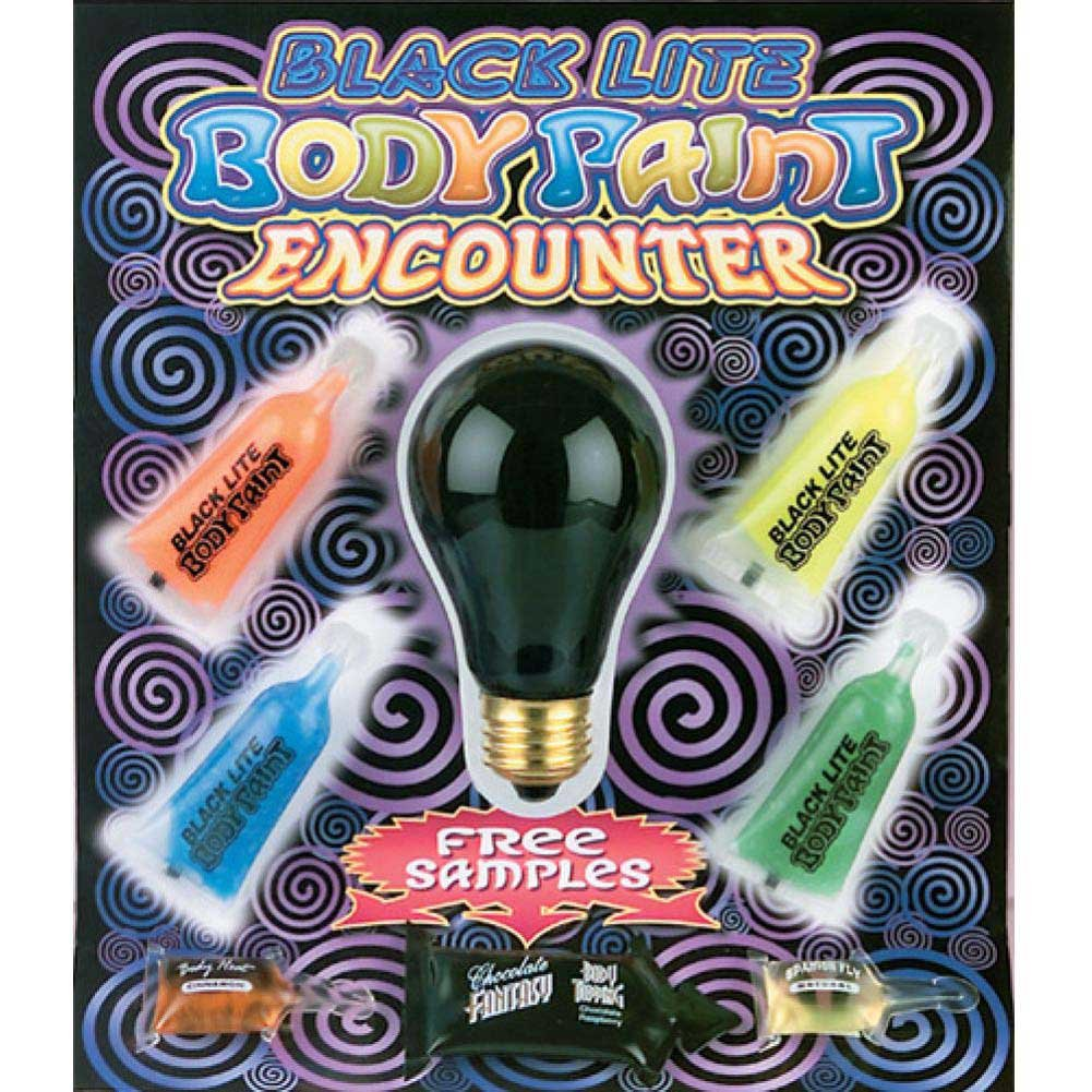 Black Light Body Paint Encounter 4 Colors - View #1