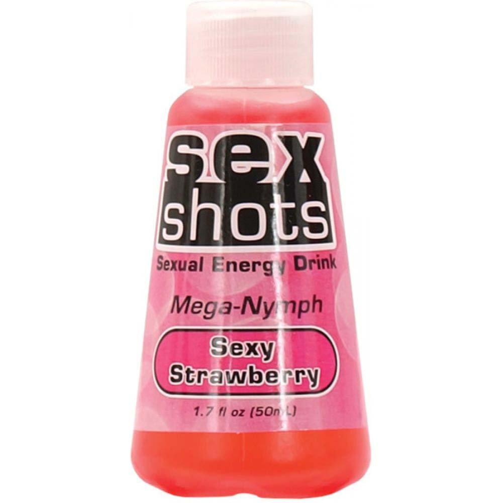 Sex Shots Mega Nymph Sexy Strawberry 1.7 Oz - View #2