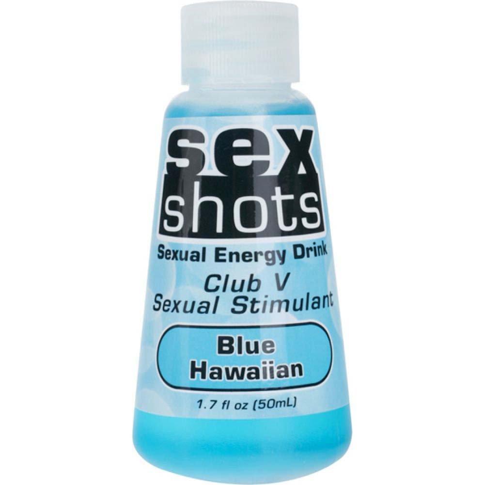 Sex Shots Club V Sex Stimulant Blue Hawaiian 1.7 Oz - View #1