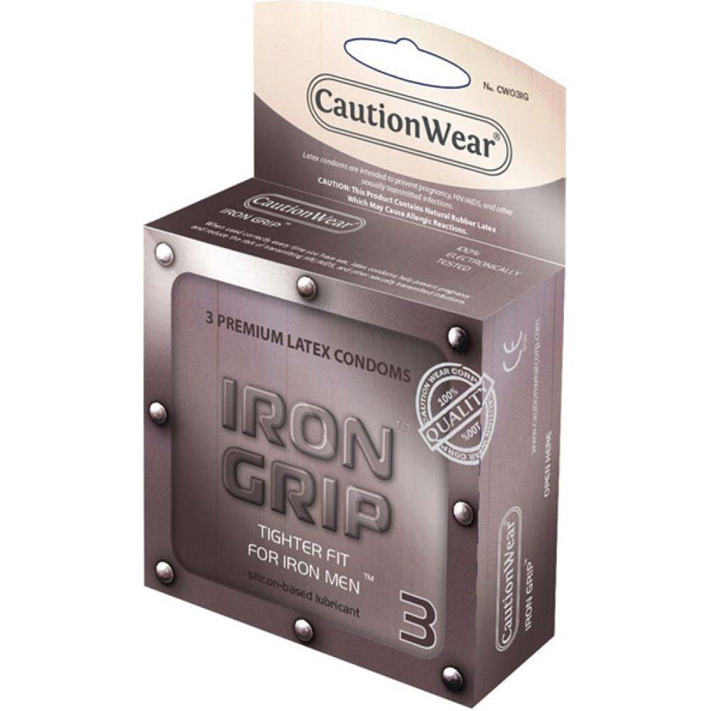 Caution Wear Iron Grip Snug Fit 3 Pack - View #1