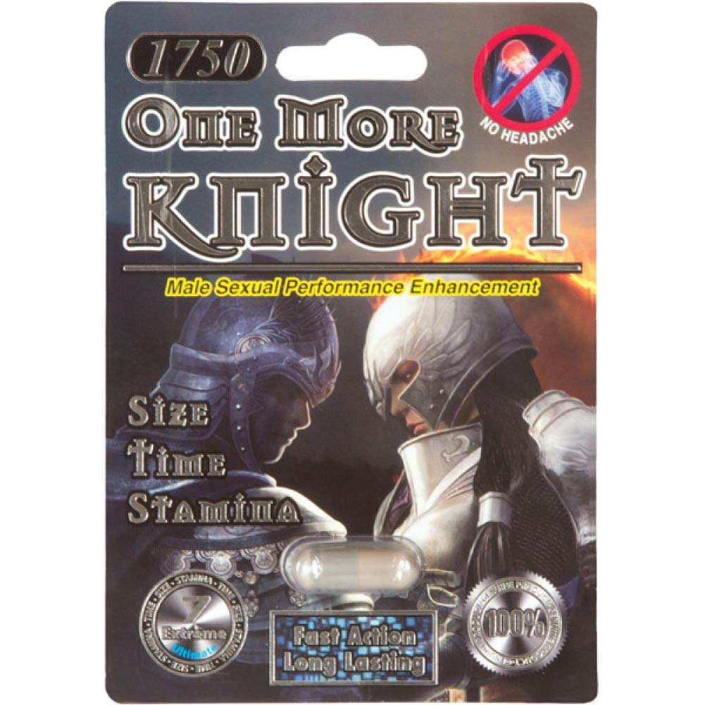 One More Knight Sexual Enhancer for Men 1 Capsule Blister - View #2