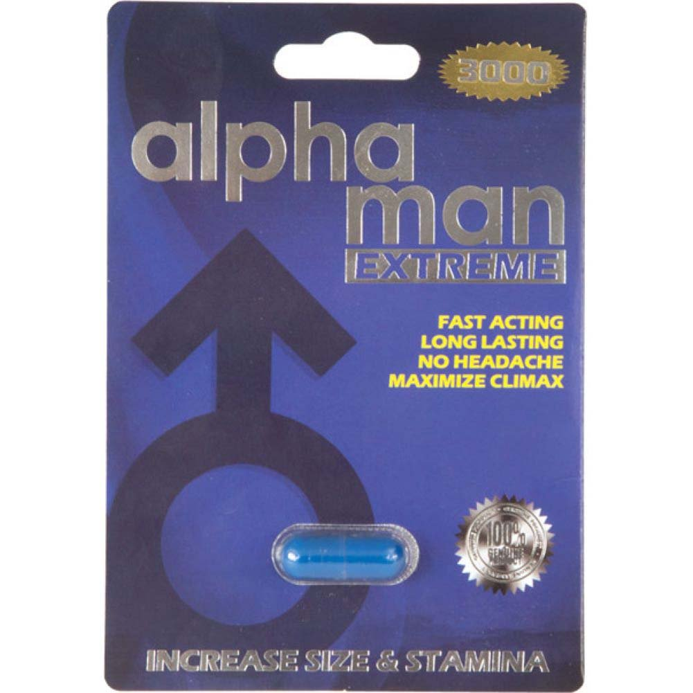 Alpha Man 3000 1 Capsule Blister - View #1