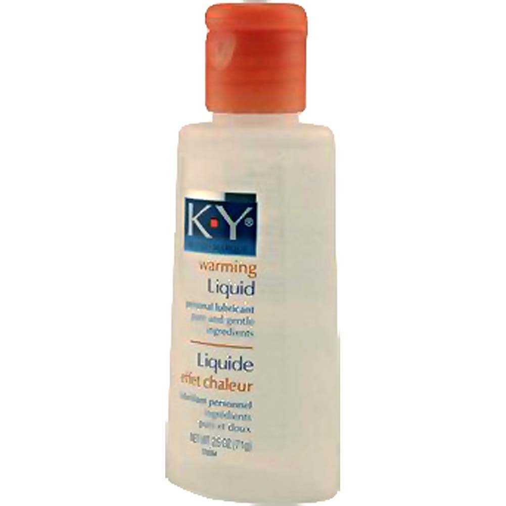 K-Y Warming Liquid 2.5 Oz - View #2