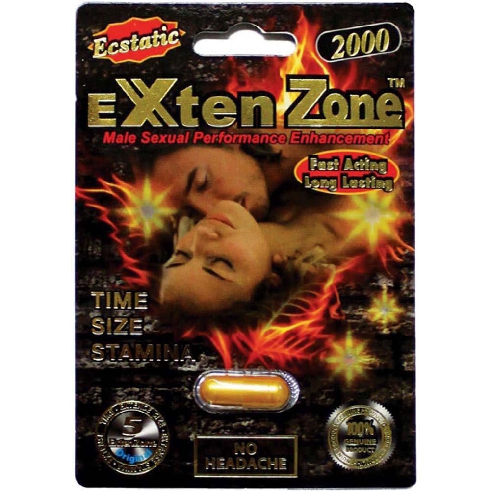 Exten Zone Ecstatic 2000 1 Capsule Blister - View #1