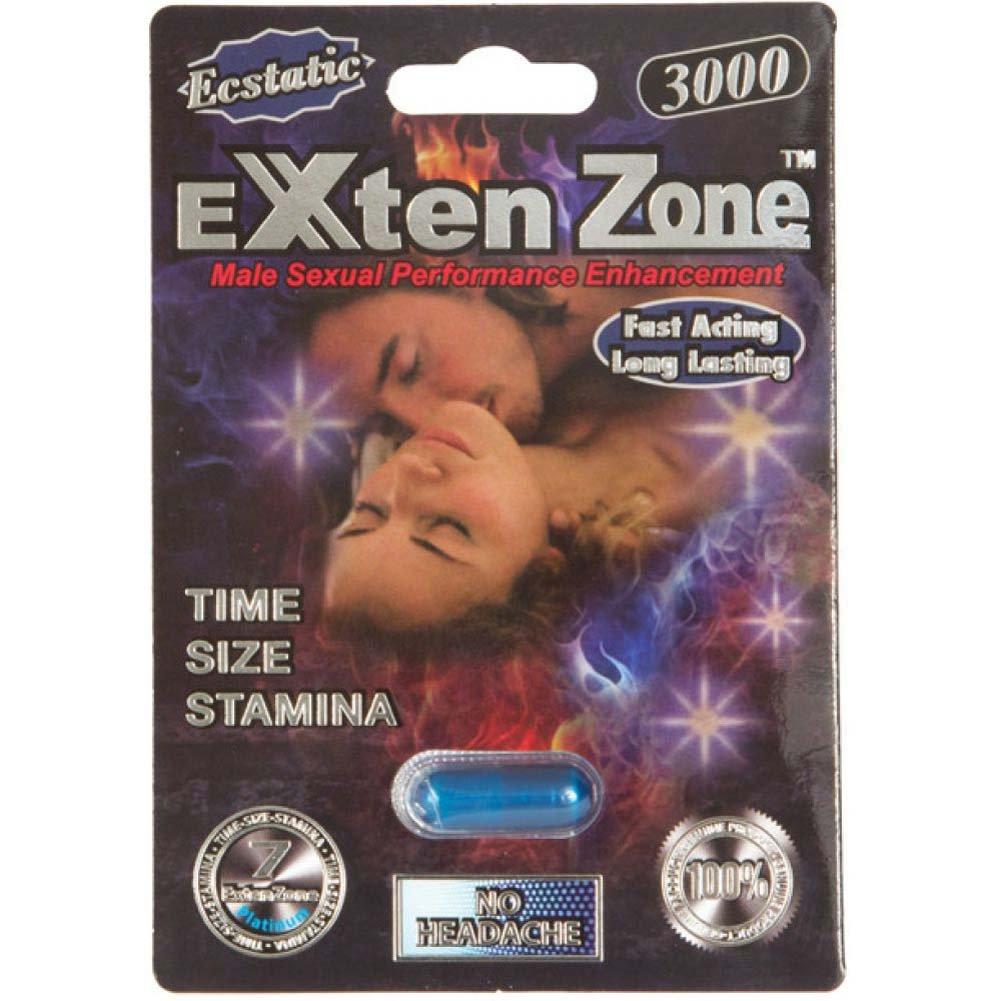 Esctatic ExtenZone Platinum 3000 1 Capsule Pack - View #1