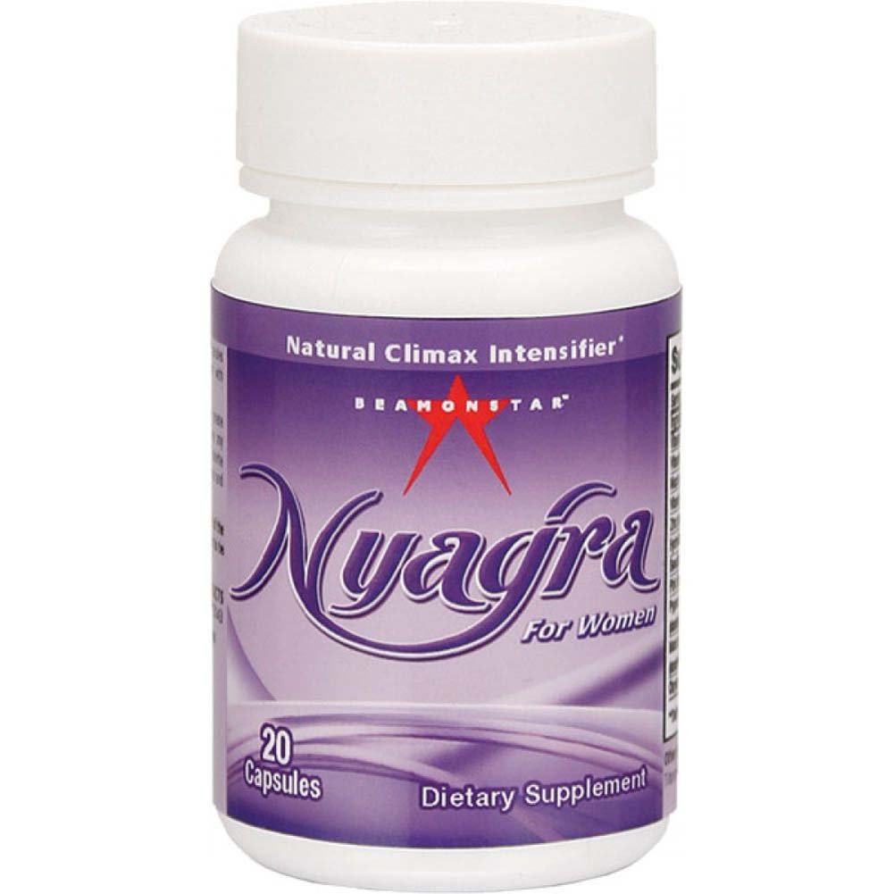 Nyagra Female Climax Intensifier Bottle of 20 Capsules - View #1