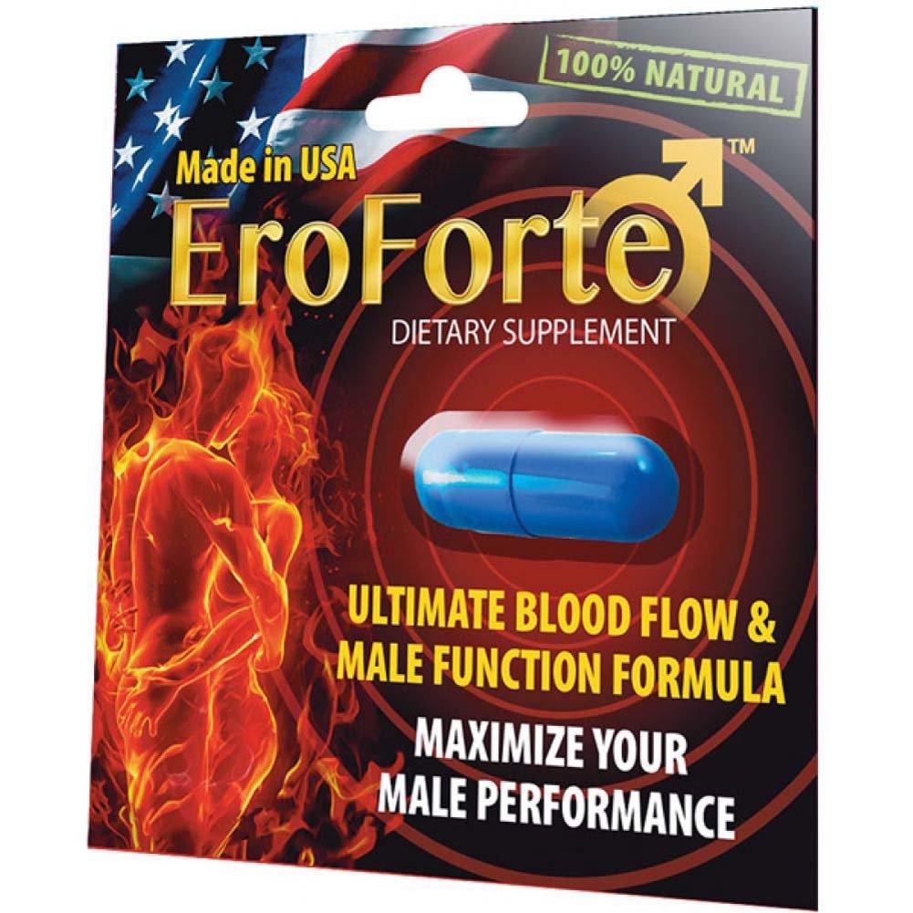 EroForte Male Sexual Enhancement Supplement 1 Capsule Blister - View #1