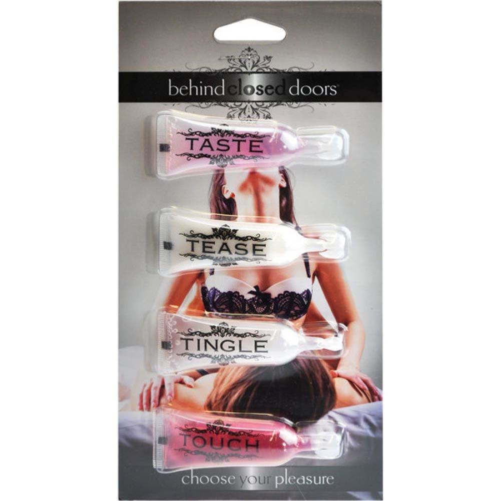Behind Closed Doors Your Pleasure Liquid Kit 4 Pack - View #1