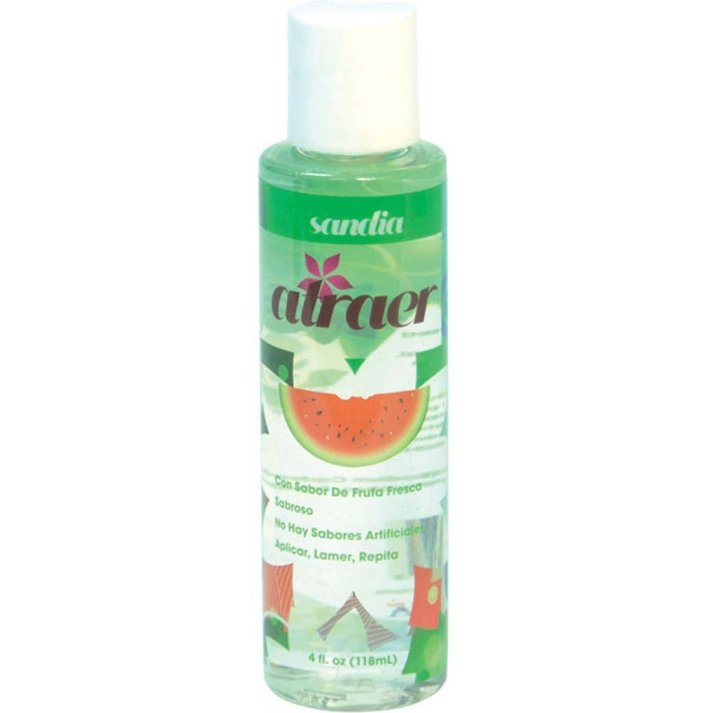 Atraer Sandia Personal Flavored Lubricant 4 Oz Watermelon - View #1