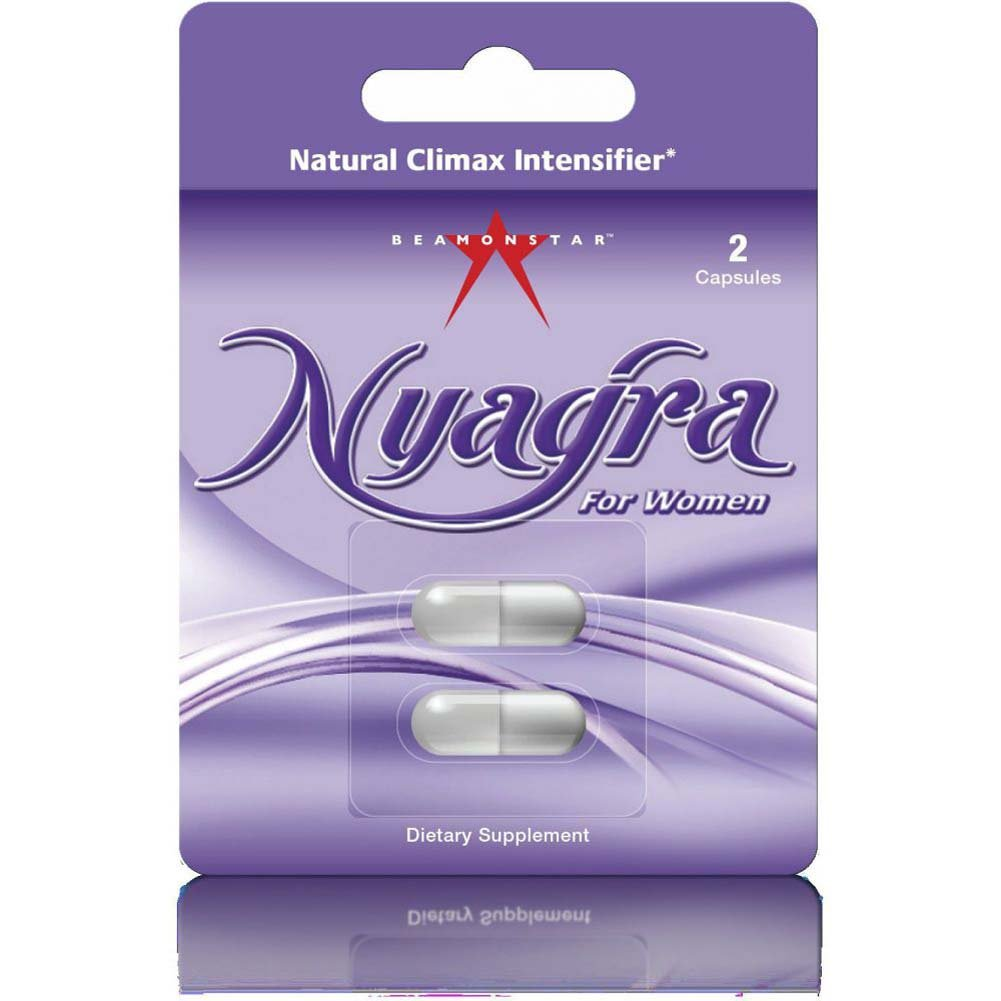 Nyagra Female Climax Intensifier Blister of 2 Capsules - View #1