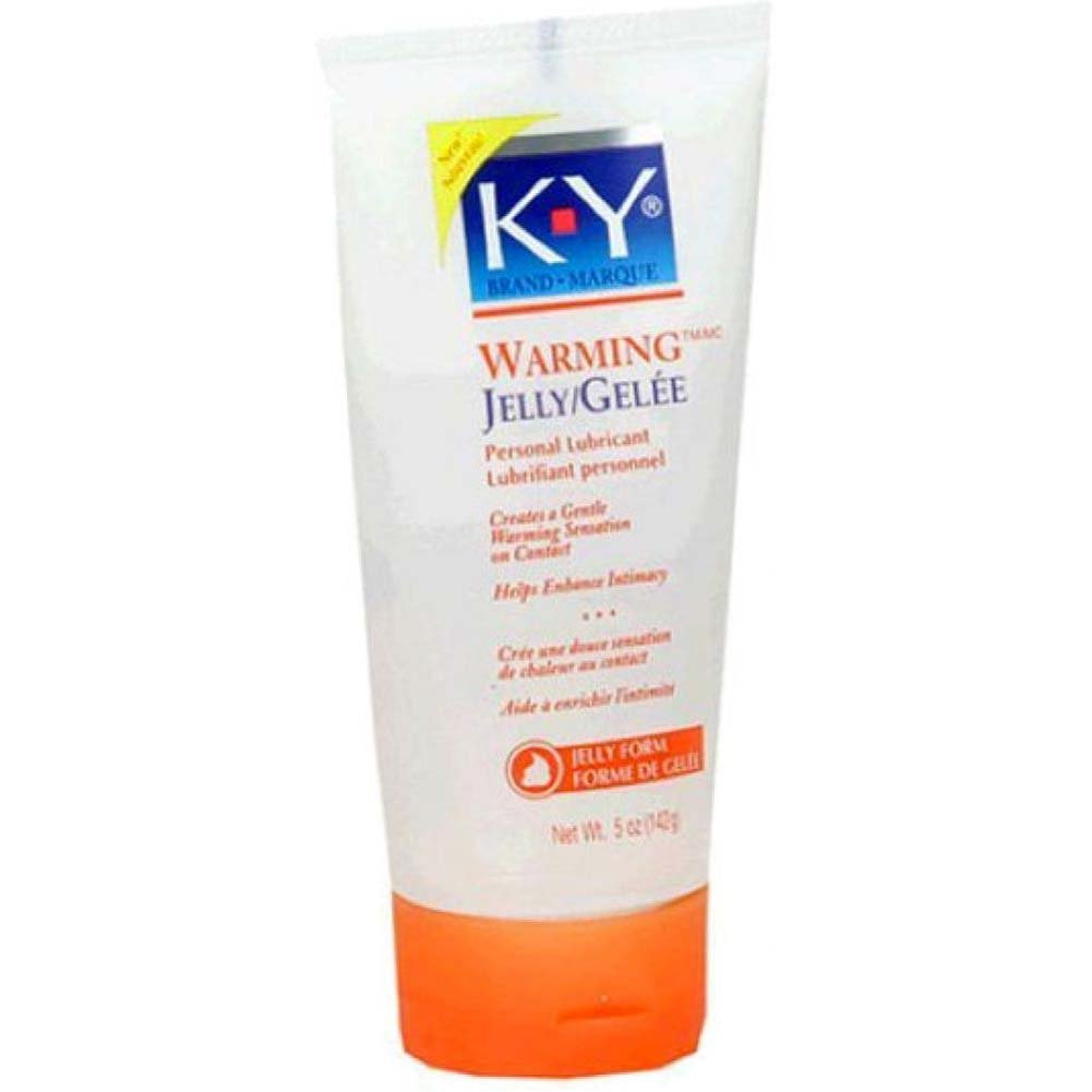 K-Y Warming Jelly Personal Lubricant 5 Fl.Oz 148 mL - View #1