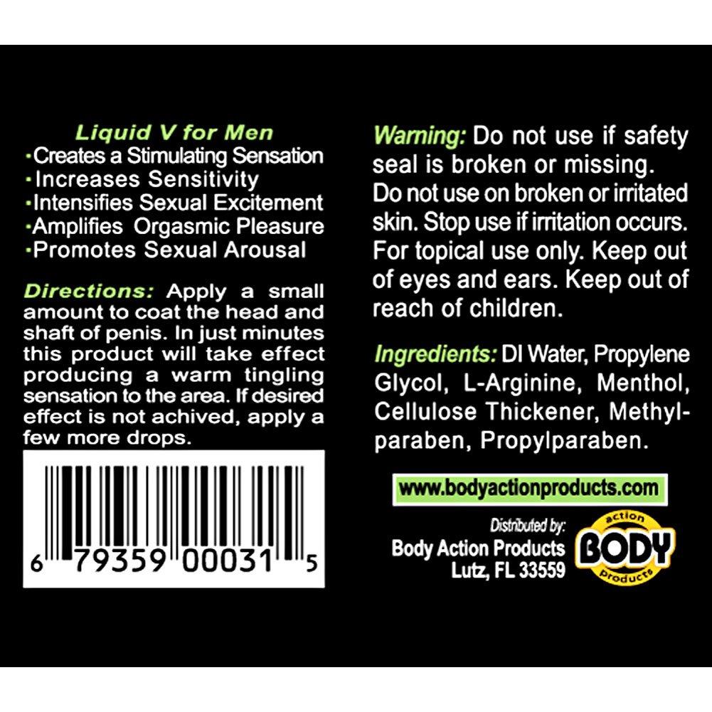 Body Action Liquid V for Men 0.5 Oz - View #1