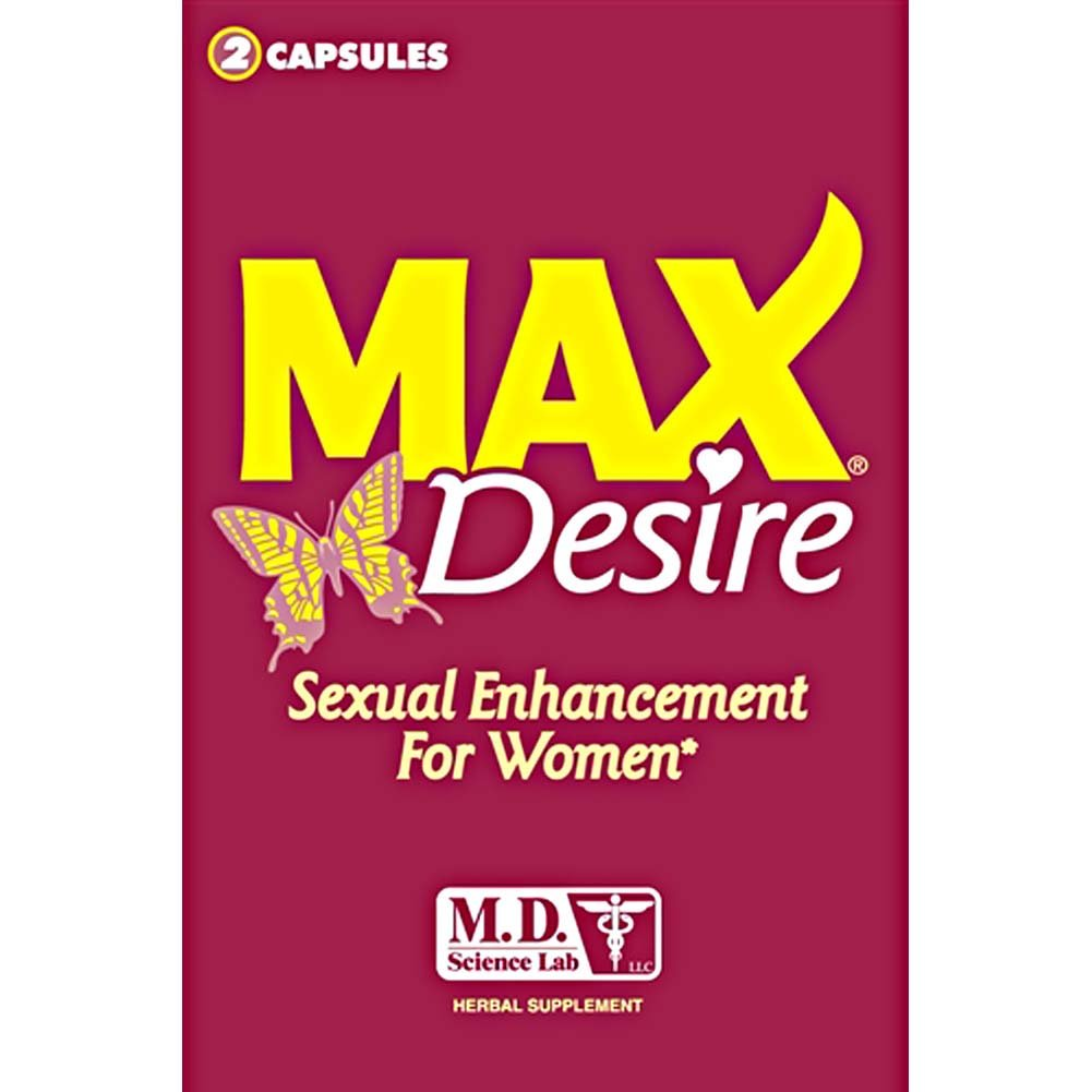 MAX Desire Sexual Enhancement for Women 2 Pack - View #1