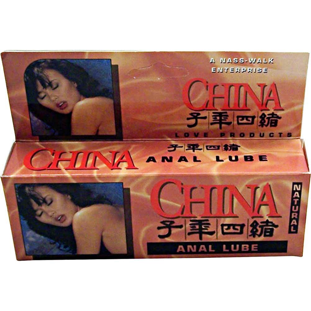 China Anal Lube Natural 4 Oz - View #1