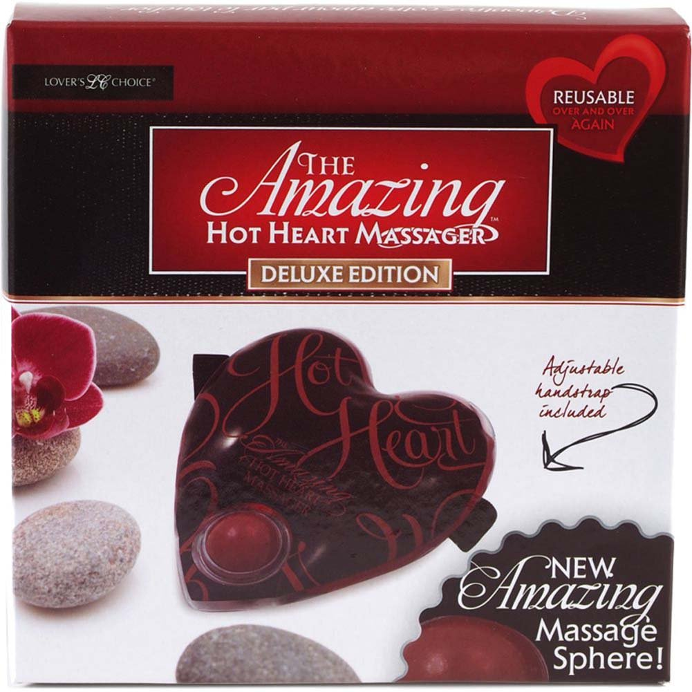 Amazing Hot Heart Massager for Lovers Deluxe - View #3