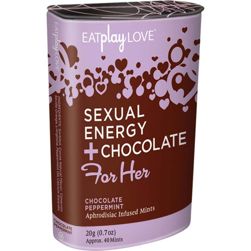 Eat Play Love Sexual Energy Chocolate For Her 1 Oz 20 Mints Chocolate Peppermint - View #1