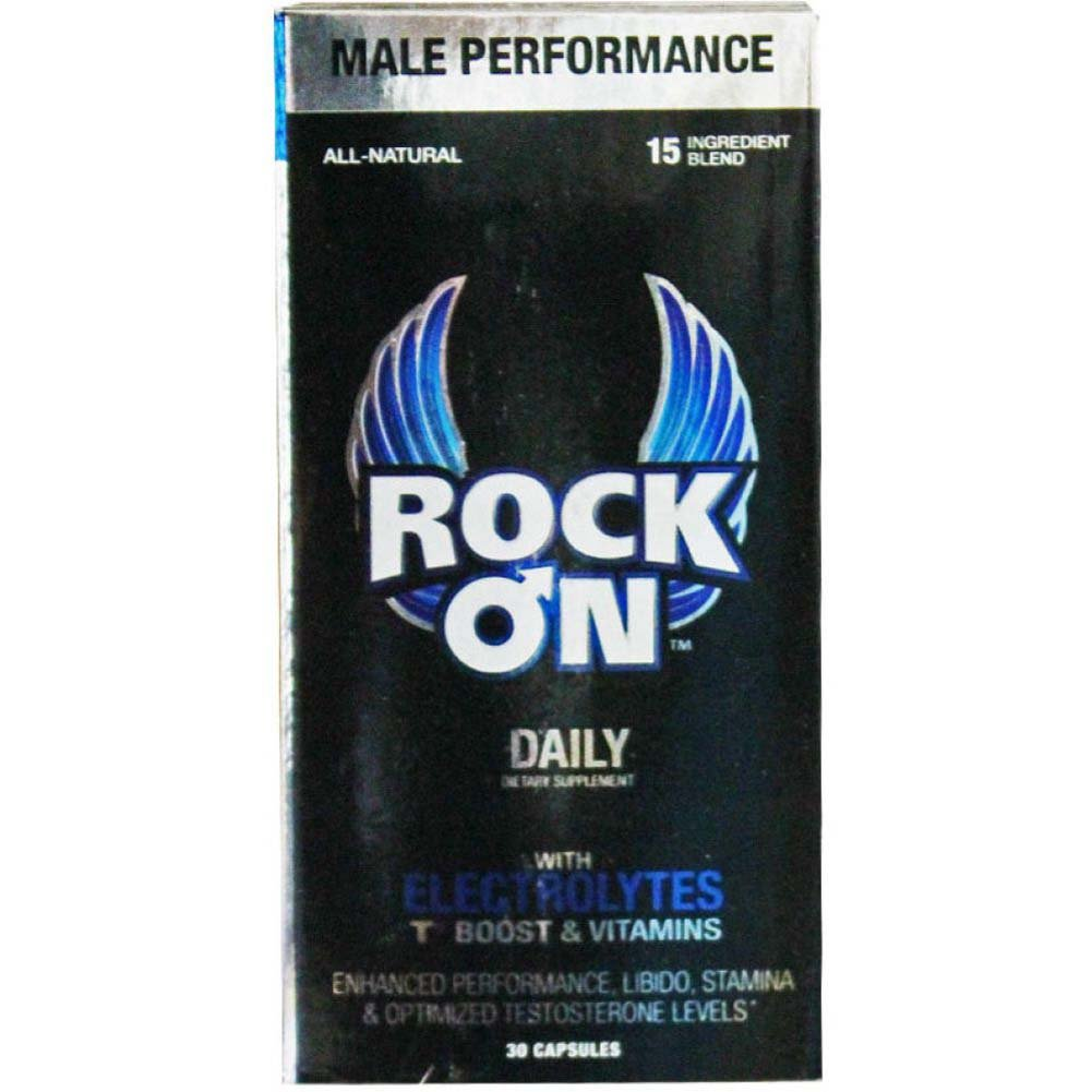 Rock On Daily Supplement for Him 30 Day Male Supply - View #1