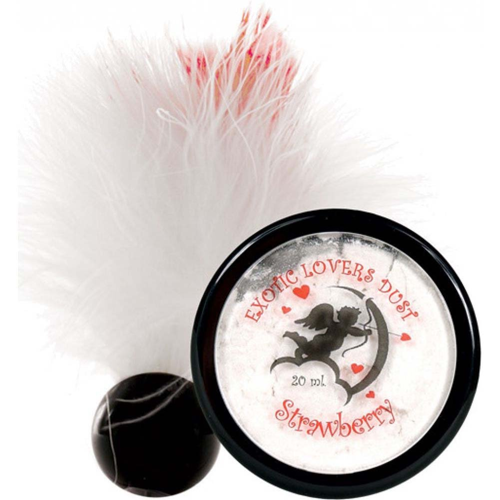Exotic Lovers Dust and Feather Duster 20 Ml Strawberry - View #1