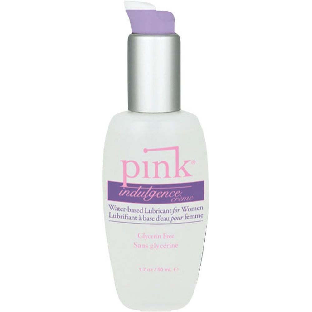 Pink Indulgence Creme Personal Water Based Lubricant for Women 1.7 Fl. Oz 50 mL - View #1