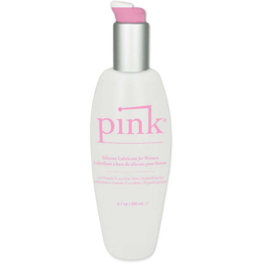 Pink Silicone Intimate Lubricant 6.7 Fl. Oz. - View #1
