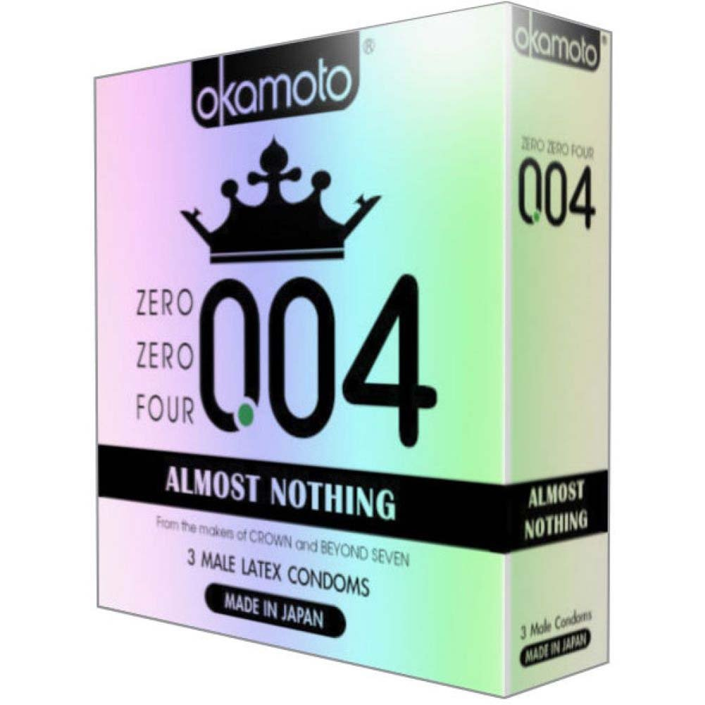 004 Almost Nothing Condoms 3 Pack - View #1