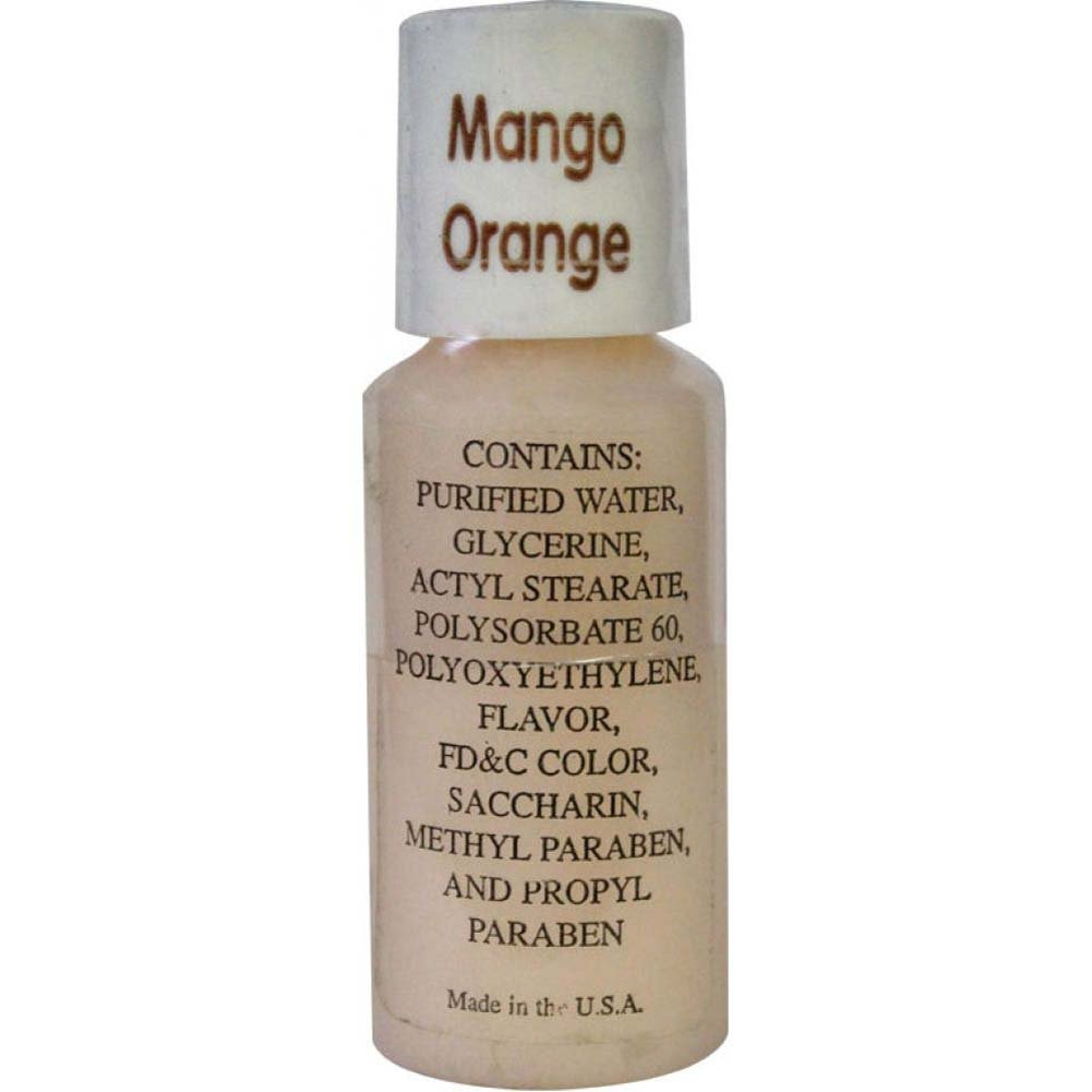 Up And Coming Edible Massage Cream 1 Oz Mango Orange - View #1