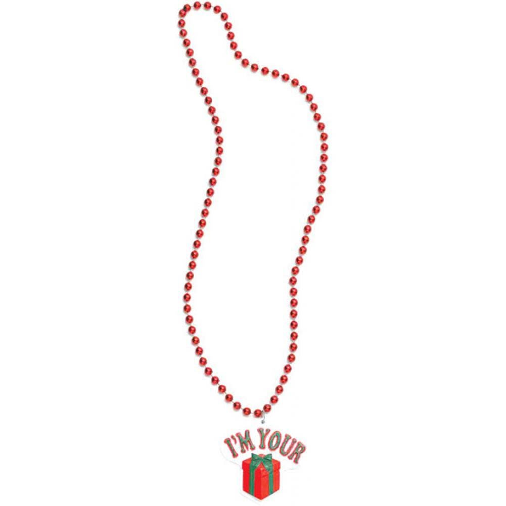 Forum Novelties IM Your Gift Holiday Necklace - View #1