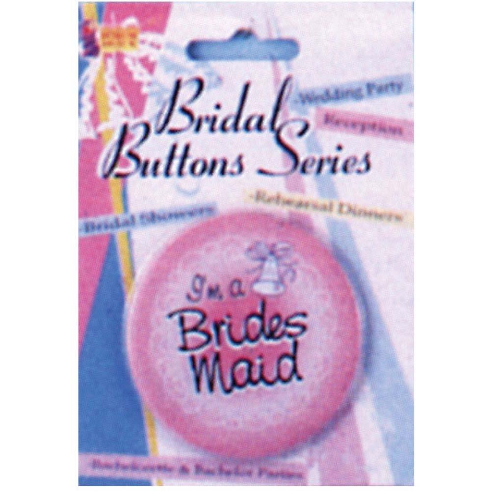 Bridal Series Bridesmaid Button - View #1