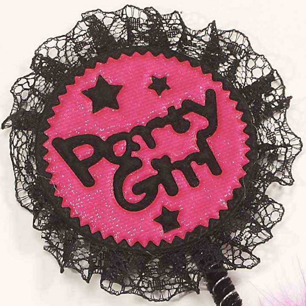Party Girl Headband Pink - View #1