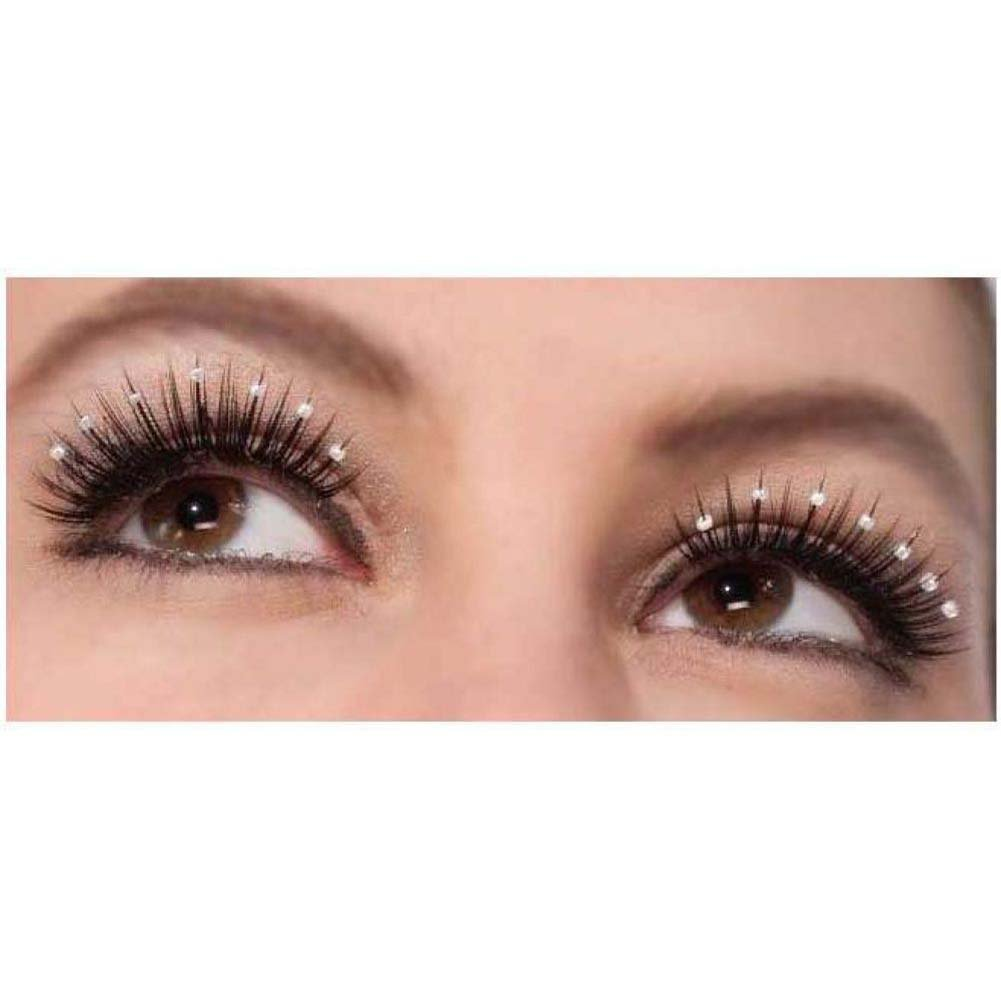 Forum Novelties Costume Eyelashes Vintage Hollywood Sparkle - View #1