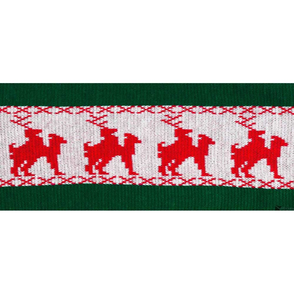 Forum Novelties Reindeer Games Laplander Scarf for Men and Women Green - View #1