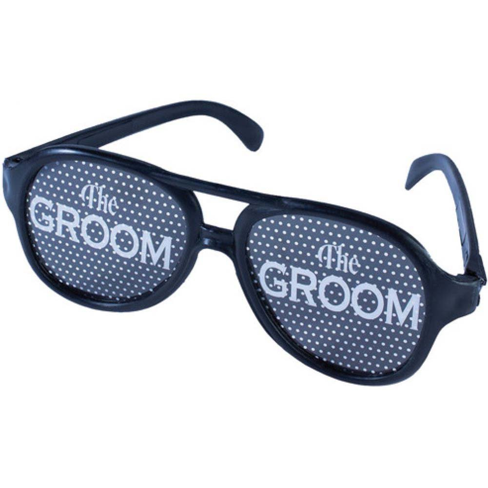 Forum Novelties Bachelor Party Groom Glasses One Size Black - View #1