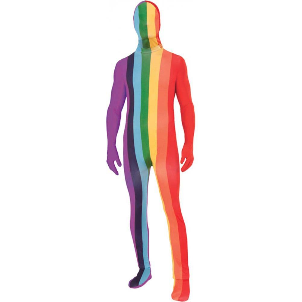 Forum Novelties Rainbow Disappearing Man Suit Standard Size Multicolored - View #1
