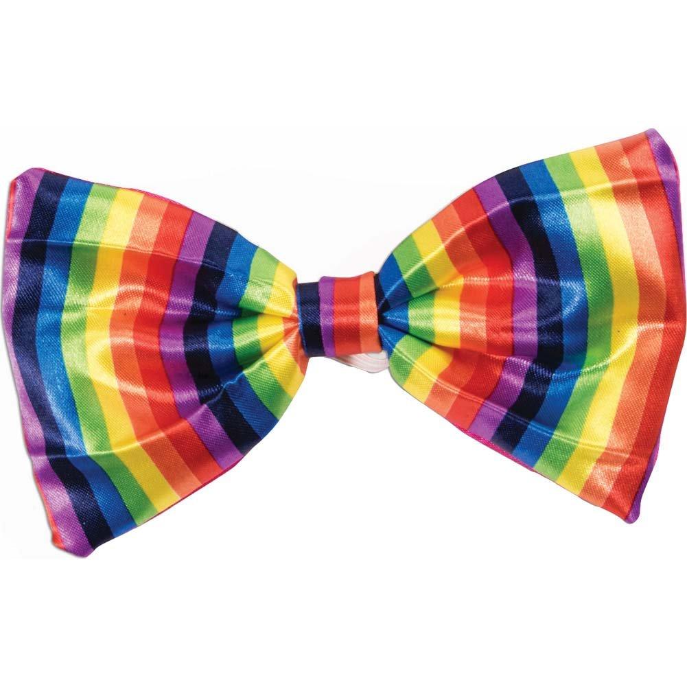 Forum Novelties Rainbow Bowtie One Size - View #1