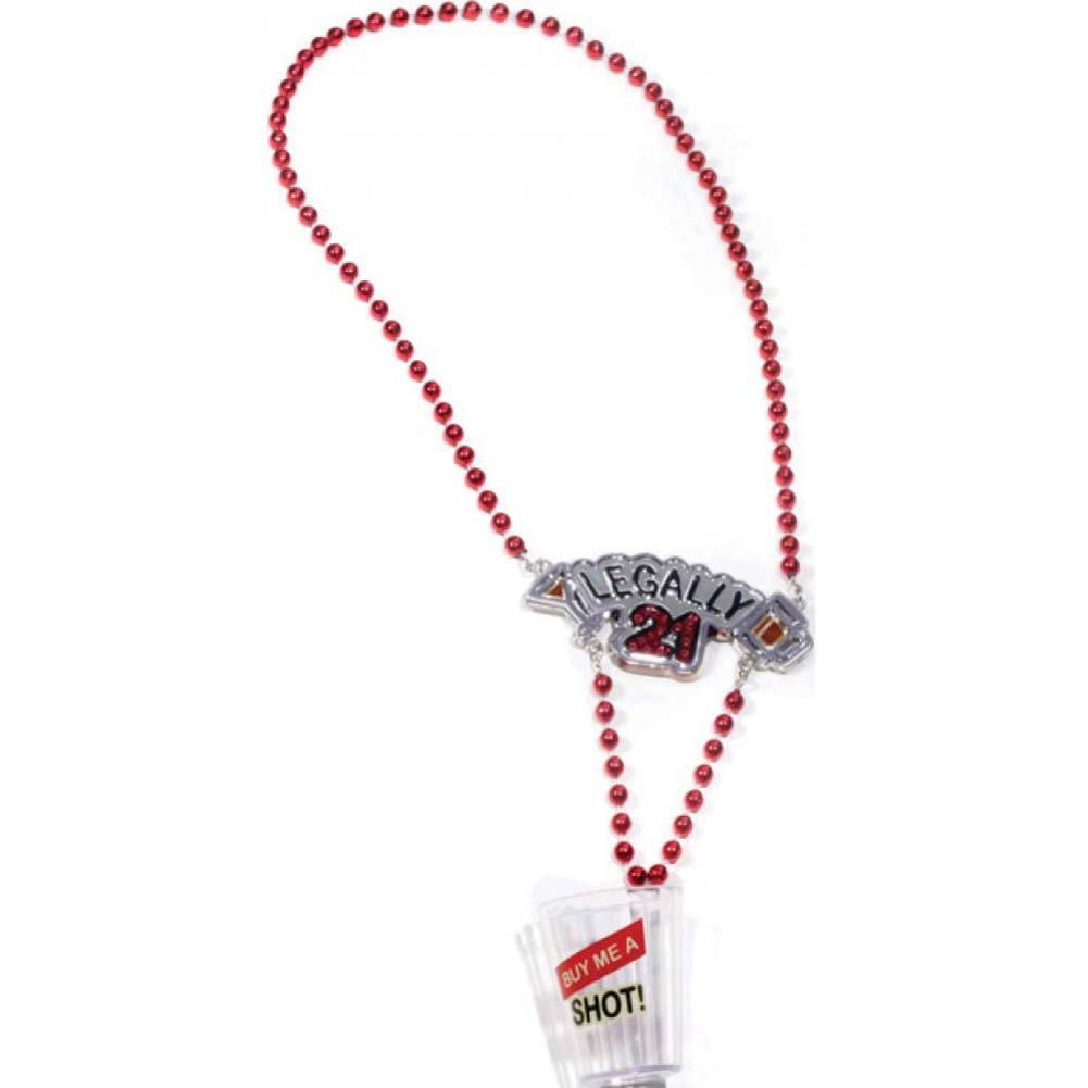 Forum Novelties Legally 21 Shot Glass Necklace - View #1