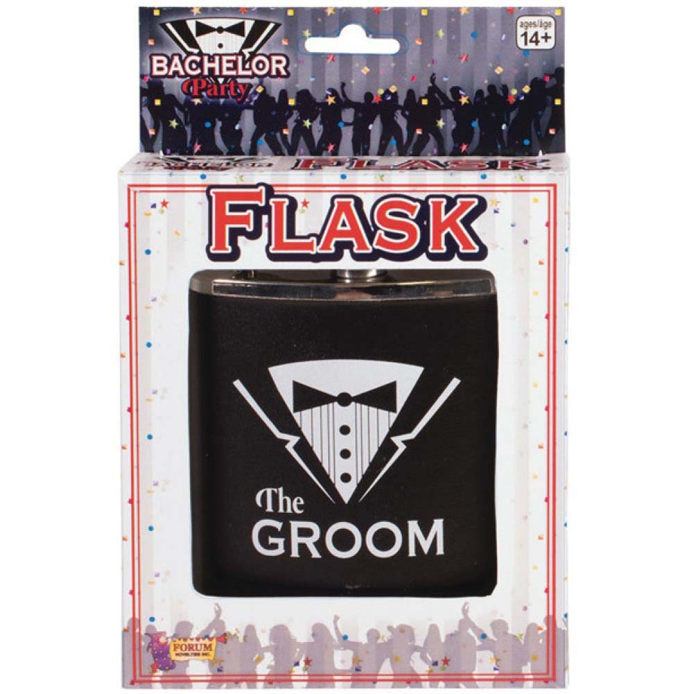 Forum Novelties Bachelor Party Groom Flask - View #1