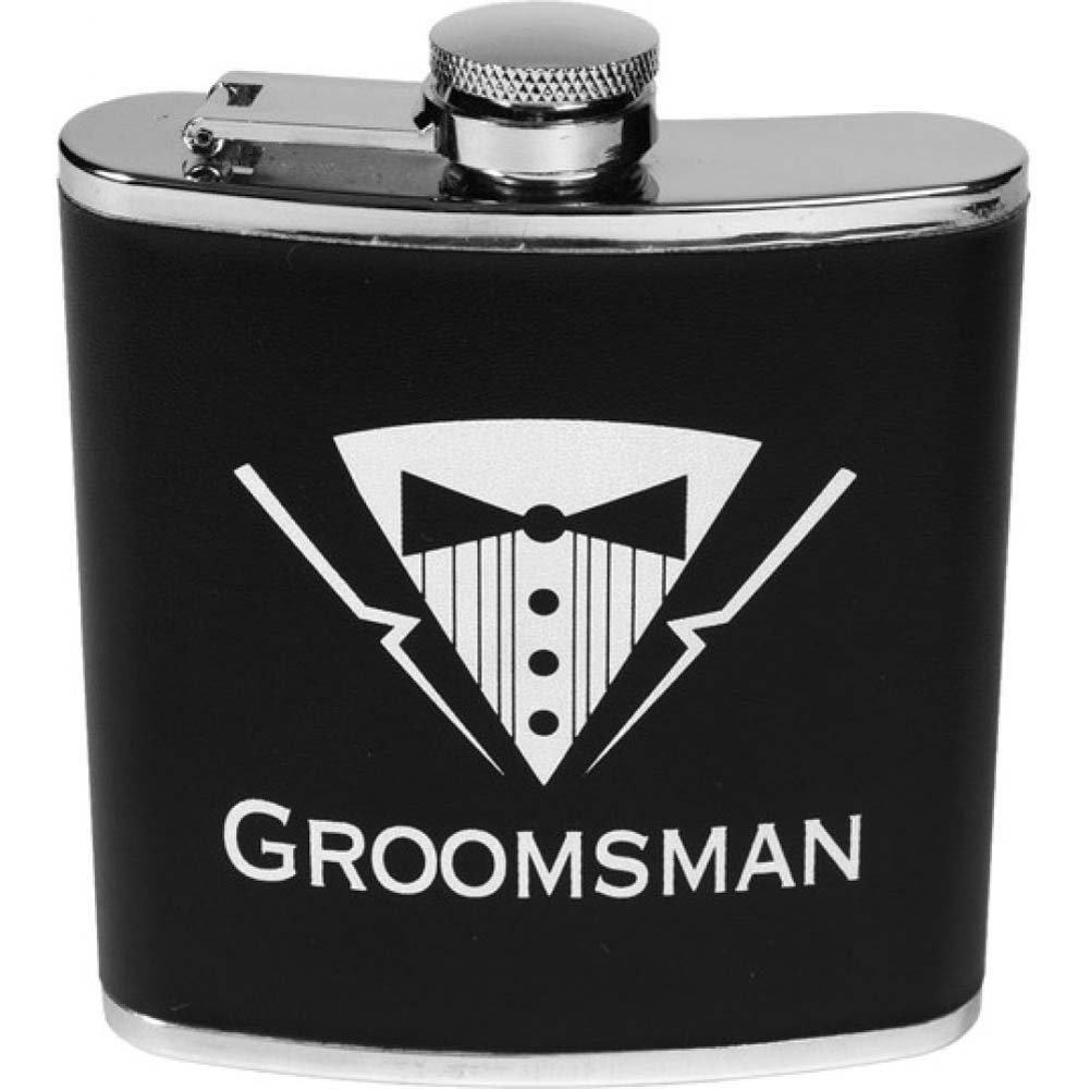 Forum Novelties Bachelor Party Groomsman Flask - View #1