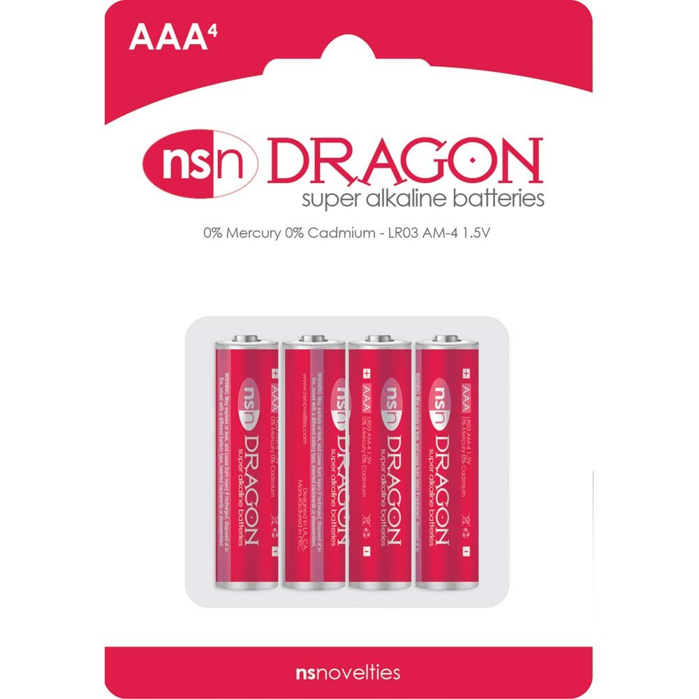 Dragon Alkaine Batteries AAA 4 Pack - View #2